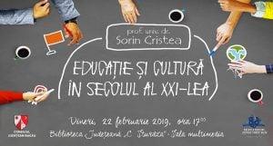 """Educație și cultură @ Biblioteca Județeană """"C. Sturdza"""" Bacău"""