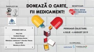 """DONEAZĂ O CARTE! @ Biblioteca Județeană """"C. Sturdza"""" Bacău"""