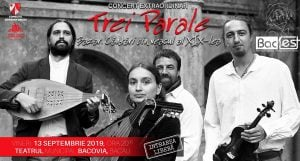 "Muzica Bac-Fest: Trei parale - ""Bazar"" @ Teatrul Municipal Bacovia"