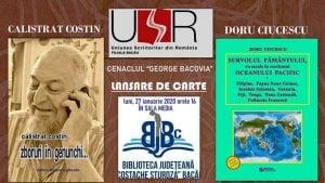 """Lansare de carte @ Biblioteca Județeană """"C. Sturdza"""" Bacău"""